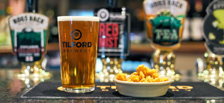 Tilford Brewery ale