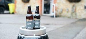 Tilford Brewery bottles