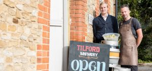 Tilford Brewery founders, Mark and Paul