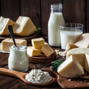 Milk, Cream & Cheese